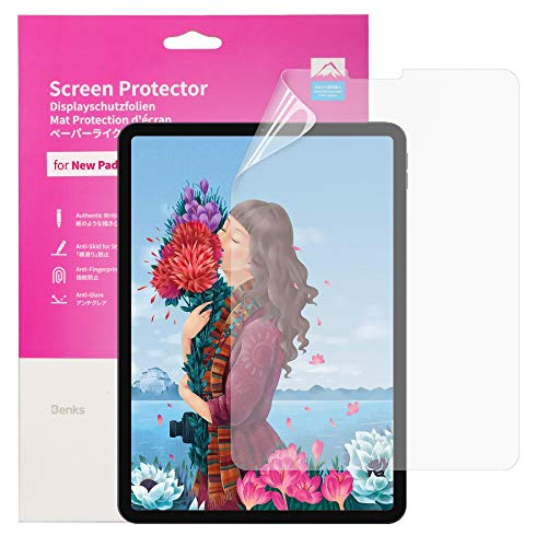 Schutzfolie für iPad Pro 11 Zoll (2020 und 2018 Modelle) / iPad Air 4 10.9 Zoll, Matt Folie Displayschutzfolie wie auf Papier Schreiben, Malen und Zeichnen mit Apple Pencil Kompatibel für iPad 2020