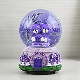 Best purple snow globe Reviews