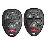 Vehicles Keyless Entry Remote Key Fob Fits 2007-2014 Chevy Tahoe/Suburban/GMC Yukon,Cadillac Escalade ESV EXT(FCCID:OUC60270,OUC60221 20869057,15913427)