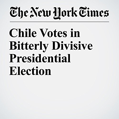 Chile Votes in Bitterly Divisive Presidential Election copertina