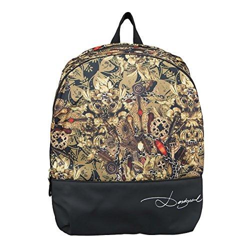 Desigual Backpack ciotole, Dorado, Taglia unica