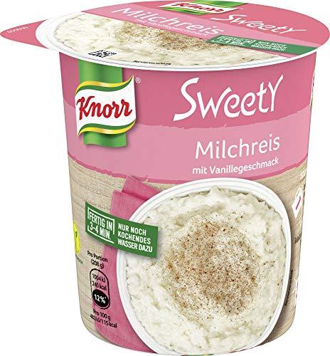 Knorr Sweety Milchreis mit Vanillegeschmack, 58 g