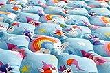 Babyfrücht Krabbeldecke BLP:'Einhorn' Fb. blau | rutsch- und wasserfest | Serie: Base-Line Premium (BLP) | Artikel 10214 | ca. 130x150cm groß | 30°C waschbar