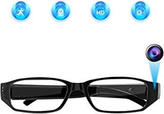 Aisoul Hidden Camera Eyeglasses Loop Video Recorder Fashion Spy Camera Security Cam
