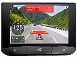 COYOTE S Fijo 4' Pantalla táctil 155g Negro navegador - Navegador GPS (10,2 cm (4'), Fijo,...