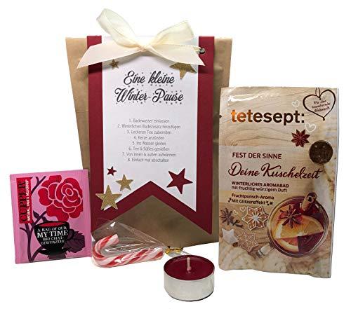 Tinkerella Eine kleine Winter-Pause Wellness-Set Geschenk-Set Mitbringsel Gastgeschenk Frauen