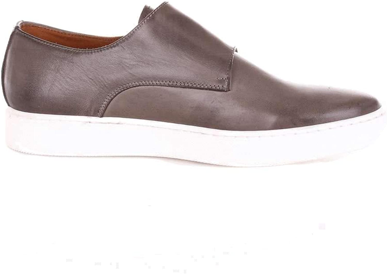 CHAMPIGNON CALZATURE 1962 Men's 8563CRUSTGREY Grey Leather Slip On Sneakers