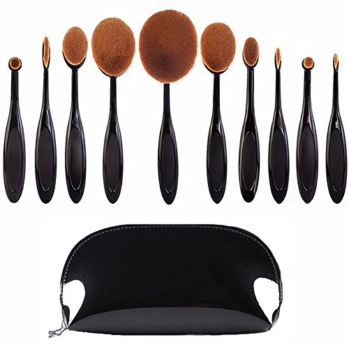 LZYMSZ 8Stk Ovaler Make-up-Pinsel