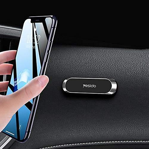 Auto handyhalterung-Magnetischer Telefonhalter im Auto GPS Air Vent Mount Magnetständer Autotelefonhalter-United_States_Silver