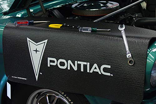 "Fender Gripper Fender Cover with Gm Pontiac Logo | Officially Licensed by General Motors | Universal Fit | Standard Size 22"" X 34"" 
