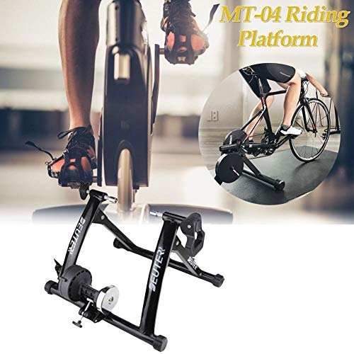 Best Review Of Bike Trainer Stand - Indoor Bicycle Trainers - Fan Wheel Bicycle Cycle Fitness Cyclin...