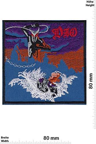 Dio Holy Diver Heavy Metal Band Patch Badge Applique Geborduurd IJzer op