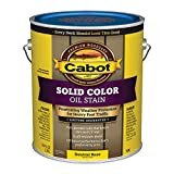 Cabot Solid Tintable 7606 Neutral Base Oil-Based Deck Stain 1 gal. - Case of: 4; Each Pack Qty: 1;