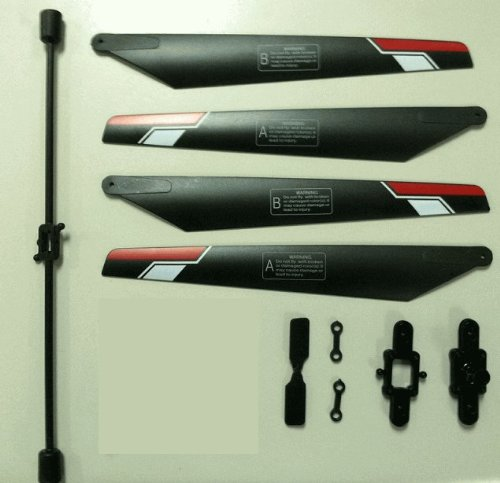 Defender YD-911 Radio Control Helicopter Replacement Parts Kit, Blades, Tail Rotor, Balance Bar