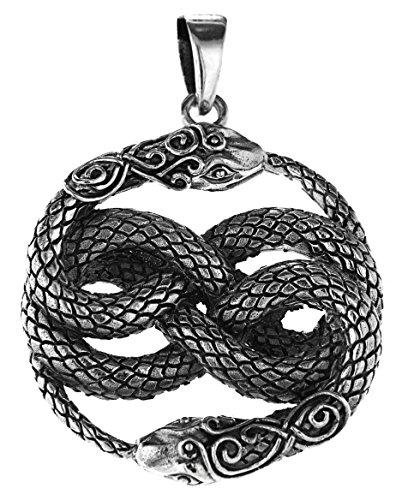 Kiss of Leather Schlangen Anhänger aus 925 Sterling Silber Nr. 330