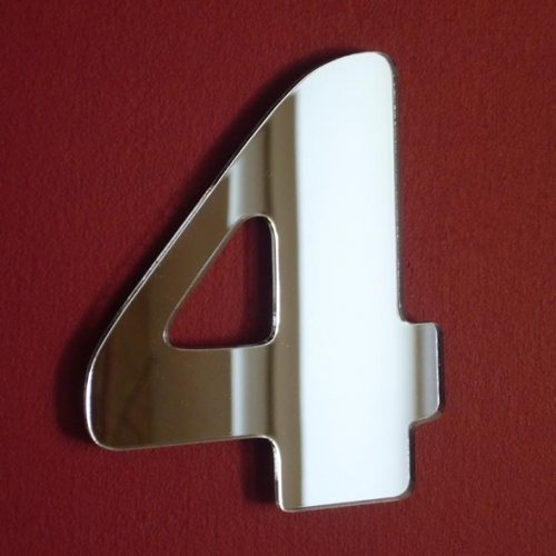 Super Cool Creations Number 4 Mirror - 15
