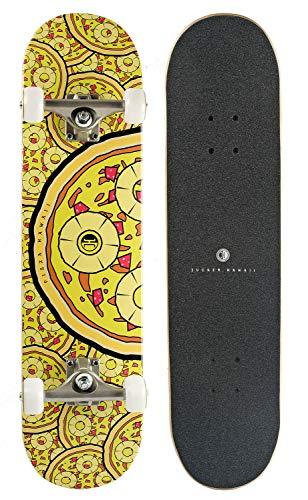 JUCKER HAWAII Skateboard Perky Pizzas 7.75