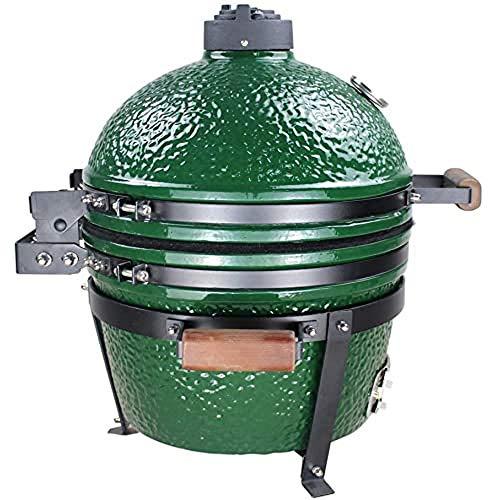 Cookfire BAR62001 Horno Brasa Sobremesa, Color Verde Oscuro