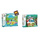 Smart games Los 3 cerditos – Juego Educativo para niños, Rompecabezas para niños, puzles Infantiles, Juego de Mesa para niño, Puzzle Educativo, smartgames + Blancanieves Deluxe, Juego de ingenio