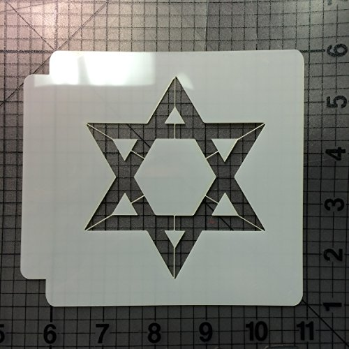 Hanukkah Stencil 101 (4 Inches)