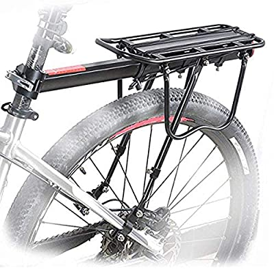 HOMEE 110 Lbs / 50KGS Universal Adjustable Equipment Stand Footstock Bicycle Carrier Rack with Tool