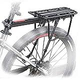 HOMEE Rear Bike Rack, 110 lbs / 50KGS Rear Bike Frame Aluminum...