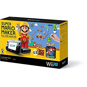 Super Mario Maker Console Deluxe Set - Nintendo Wii U