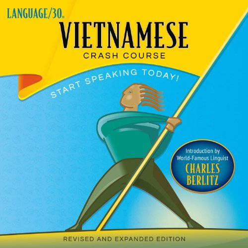 Vietnamese Crash Course audiobook cover art