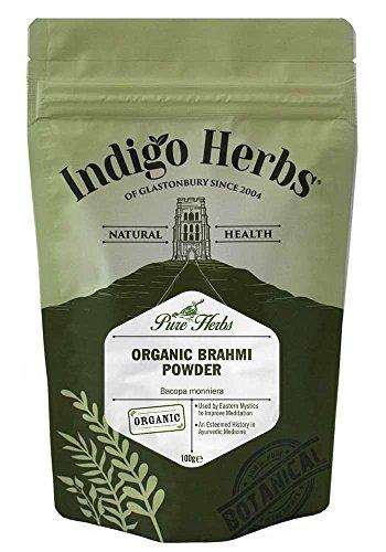 Indigo Herbs Bio Brahmi Pulver (Bacopa Monniera) 100g