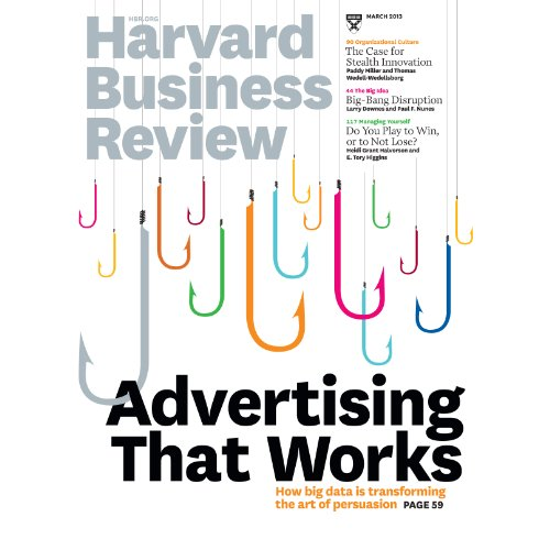 Harvard Business Review, March 2013 copertina