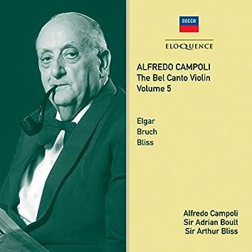 Alfredo Campoli: The Bel Canto Violin - Vol. 5