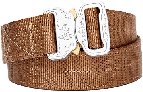 "Klik Belts Tactical Belt –2 PLY 1.5"" Nylon Heavy Duty Belt Quick Release Cobra Buckle - Unisex"