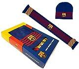 Fc Barcelone Box Gorro + Bufanda Barca - Colección Oficial