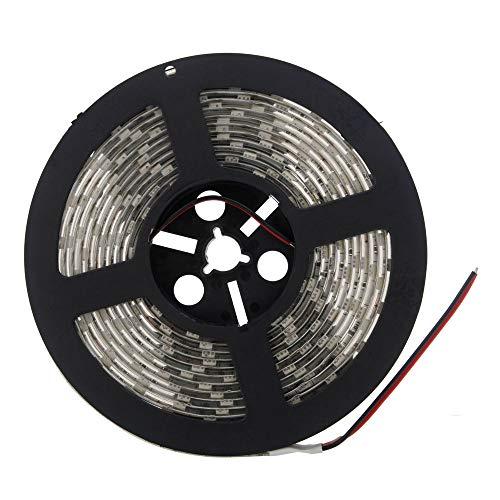 LEDテープ 防水 24V 5m 300連SMD5050 ホワイト 白色 白ベース 正面発光