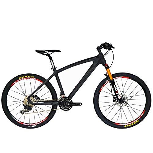 BEIOU® Carbon Fiber Mountain Bike Hardtail MTB 10.65 kg SHIMANO M610 DEORE...