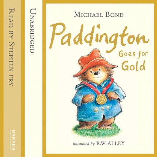 Paddington Goes for Gold cover art