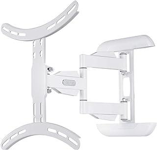 Hama TV Wandhalterung (neigbar, schwenkbar, vollbeweglich für Fernseher von 32 bis 65 Zoll (81 cm bis 165 cm Bildschirmdiagonale), inkl. Fischer Dübel, VESA bis 400x400, max. 35 kg) weiß