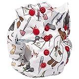 No Prep Cloth Diaper for Newborns – Smart Bottoms Born Smart 2.0 – Natural Fiber Interior (Doc)