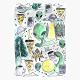 DripCreationz Alien Coffee Illuminati Moon Terror Cool