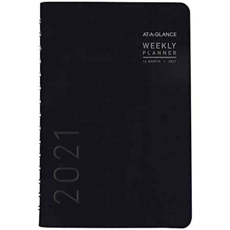 """2021 Weekly /& Monthly Planner Refill by AT-A-GLANCE 10231 Day-Timer 5-1//2/"""" x ..."""