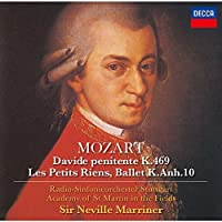 Sir Neville Marriner - Mozart: Davide Penitente, Les Petits Riens [Japan CD] UCCD-90031 by SIR NEVILLE MARRINER (2016-03-16)