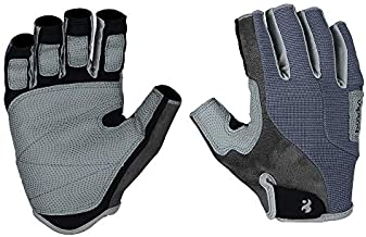 Keep Outdoor Professional Rock Climbing Glove Men Women Wear Resistant PU Half Finger Wall Repelling Gloves Anti Slip for Mountaineer