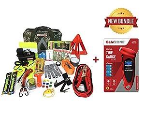 Blikzone Camo Bundled Auto Roadside Assistance Emergency Car Kit