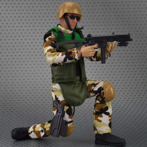 HYZH Figura de acción de soldado 1/6, 30 cm, modelo SWAT, especial policía de soldado, modelo creativo regalo para los fans militares