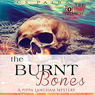 The Burnt Bones: A Pippa Langham Mystery audiobook cover art
