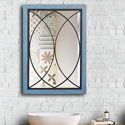 Espejo de pared decorativo de pared para colgar en la pared