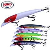 Halco flotante Jerk Minnow Lure LASER PRO 120MT DD – Purple Haze