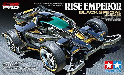 Radiokontrol Tamiya 95574 Mini 4WD PRO Rise-Emperor Black Special MA Chassis 1/32 Kit Montaggio Emperor