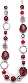Best extra long beaded necklace Reviews