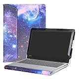 Alapmk Diseñado Especialmente La Funda Protectora de Cuero de PU Para 11.6' Lenovo IdeaPad 120S 11 120s-11IAP Series Ordenador portátil,Galaxy